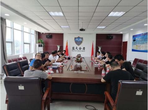 求师取经练技能    携手共进促发展             ---陕西北辰检测公司到蓝天金盾公司观摩学习